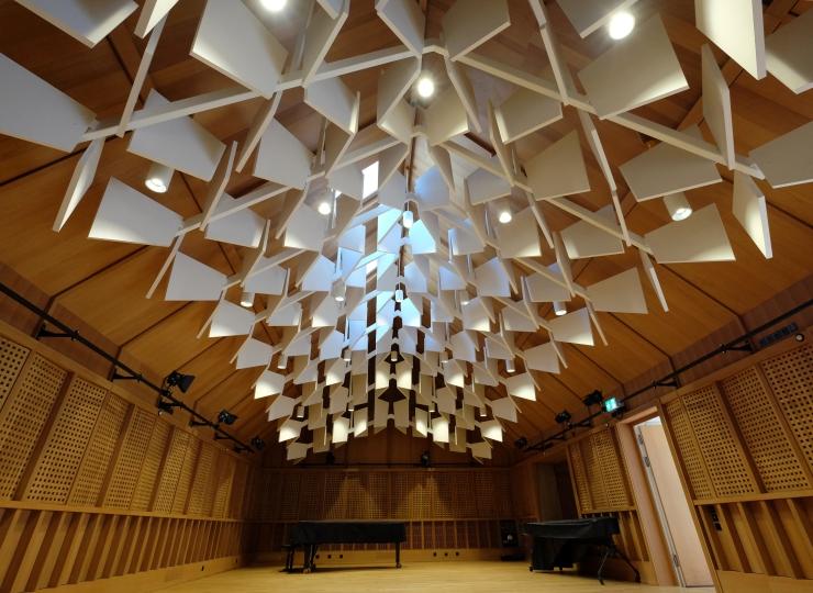 recording room.